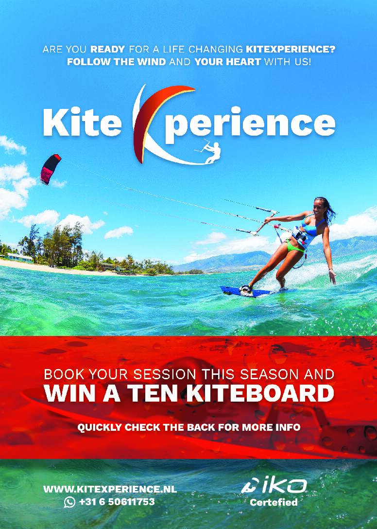 Win een Ten Kiteboard